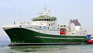 Tersan delivered the Freezer Stern Trawler, NB1091 Calvert