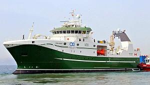 Tersan delivered the Freezer Stern Trawler, NB1091 Calvert