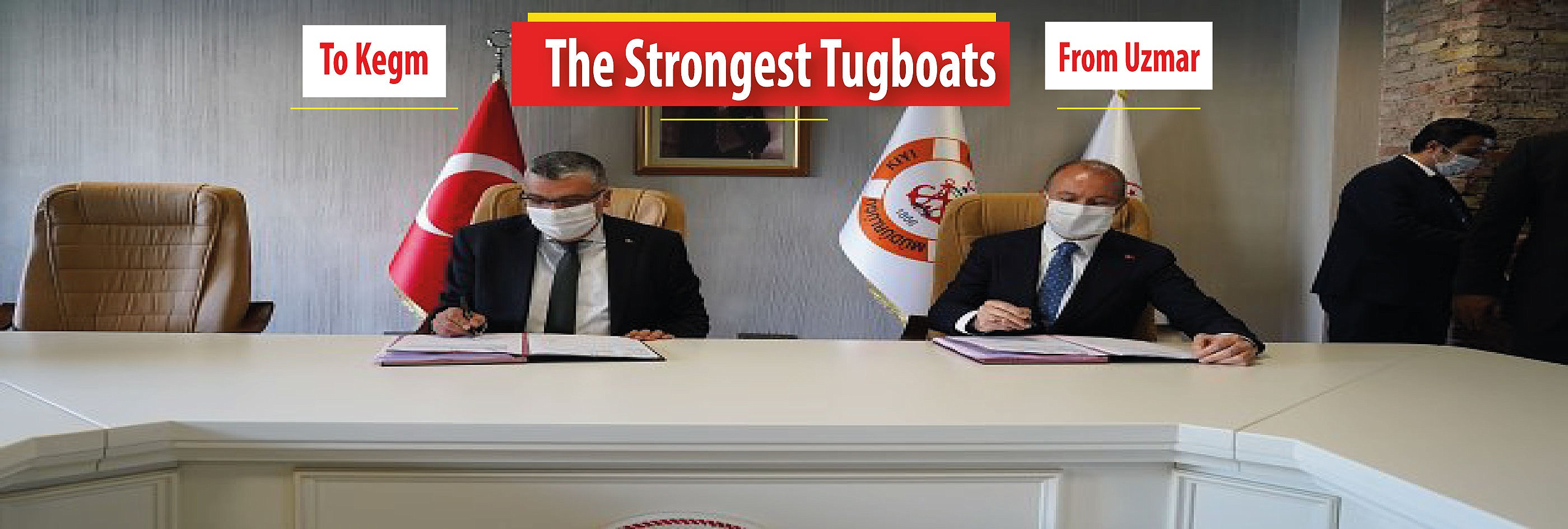 UZMAR to build two tugboats for Turkish Directorate General Of Coastal Safety!