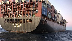 APL England master charged over loss of containers