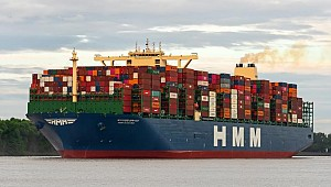 HMM's World's Biggest Box ship Completes Maiden Run!