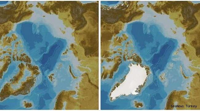 New depth map of the Arctic Ocean!