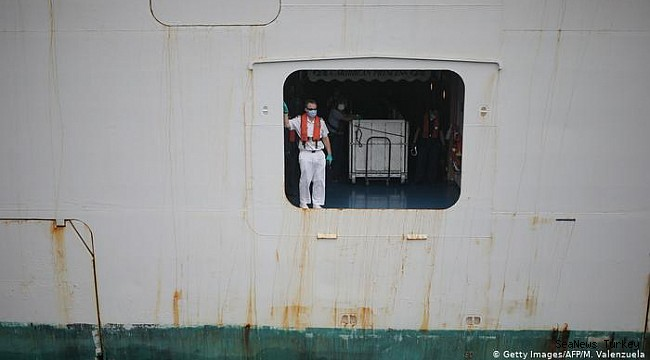 Sailors around the world stranded because of coronavirus pandemic