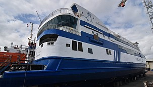 Damen Shiprepair Harlingen completed repair project of ferry Vlieland