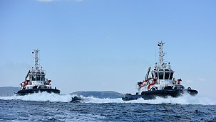 Milestone with SANMAR's technical delivery of new rastar 3200sx tugs!