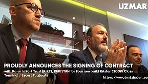 UZMAR announces the signing of contract with Karachi Port Trust!
