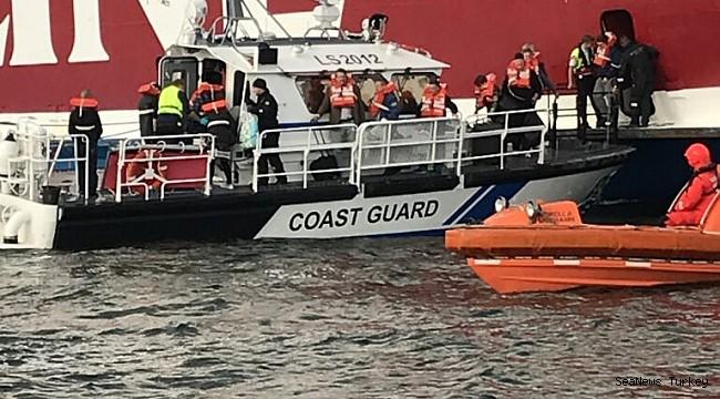 Viking ship runs aground off Finland, all passengers evacuated!