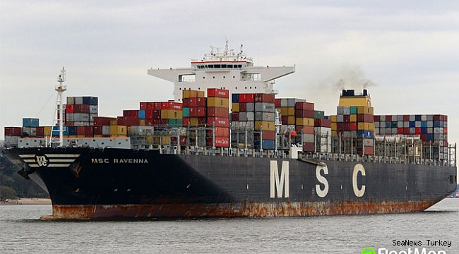 Violent murder on board of MSC mega container ship!