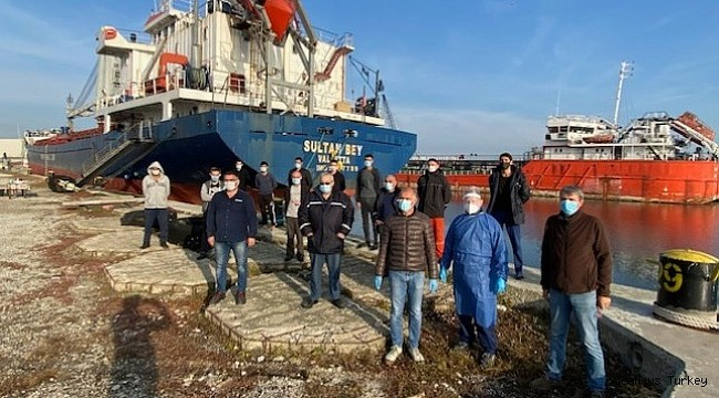 Crews Stranded in Italy Repatriated with Support of Maritime Charity!