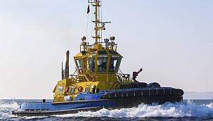 Seychelles Ports Authority takes delivery of new tug from Sanmar!