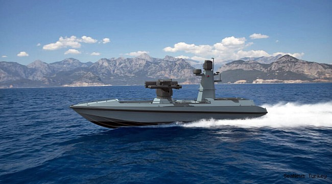 Turkey's First Armed Unmanned Vessel