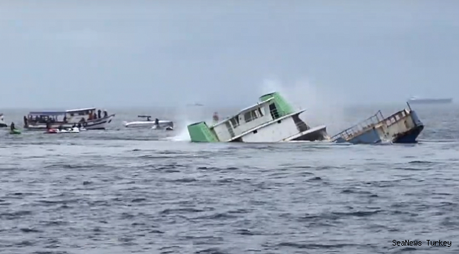 Car Ferry Sunk as Artificial Reef off Brazil!