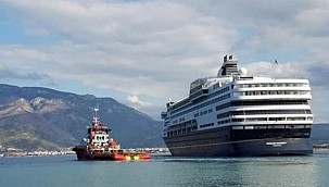 Former Holland America Cruise Ship Goes Aground in Corinth!