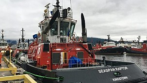 First of two powerful SANMAR built tugs arrives in Vancouver!