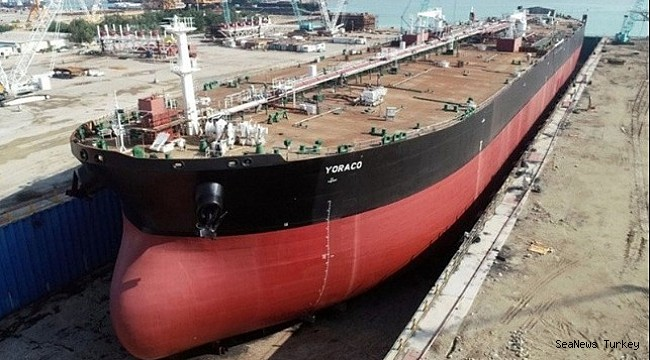 Iran Reports Launch of New Domestically Built Aframax Tanker!