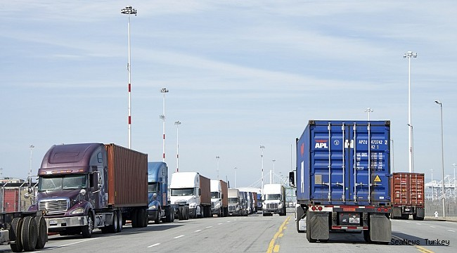 US truck driver hiring came to a halt in December