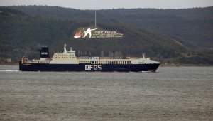 """Gallipoli Seaways"" which was on fire near Çanakkale is returning to Istanbul"