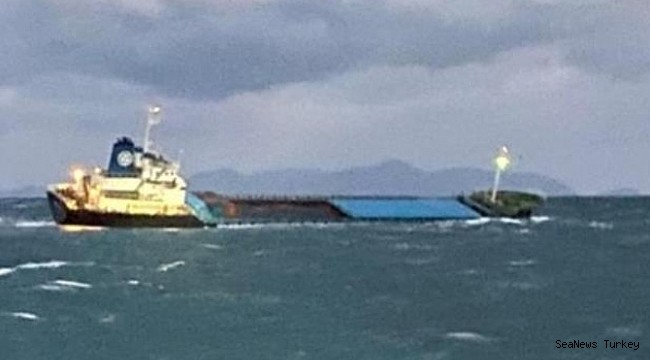 Korean general cargo ship sank north of Jeju, 8 crew rescued! (Video)