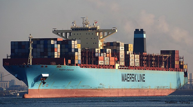 The Maersk ship broke down in the Pacific lost hundreds of containers!
