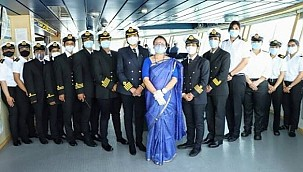 A first in the world maritime history: The entire crew consist of women!
