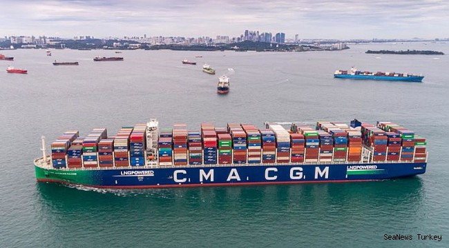 CMA CGM will deploy LNG-powered boxships on the transpacific!