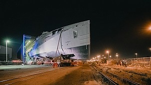 Damen Shipyards launches SA Navy's first Multi-Mission Inshore Patrol Vessel!