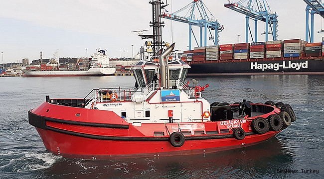 Sanmar Delivers Latest in Popular Compact Tug Series