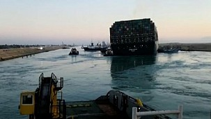 The giant ship Ever Given blocked Suez Canal has been refloated!