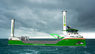 World's First Zero-Emission Wind and Hydrogen Power Cargo Ship!