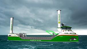 World's First Zero-Emission Wind and Hydrogen Power Cargo Ship!