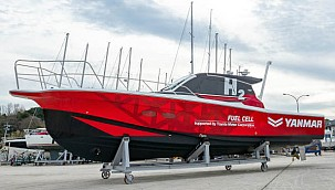 Yanmar Conducts Field Demonstration Test for Maritime Hydrogen Fuel Cell System!