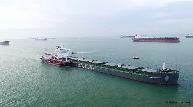 A first in Singapore: Trial of biofuels on an ocean-going vessel!