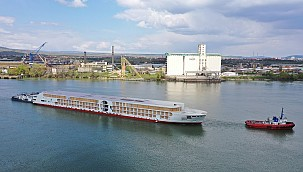 Damen launches A-ROSA's next-generation 'E-Motion' river cruise ship!