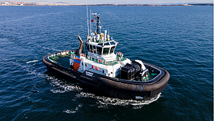 Sanmar Delivers the First of a Pair of Unique Ice-breaking Tugboat!