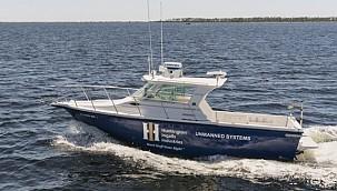 Demonstration of the autonomous vessel built by HHI