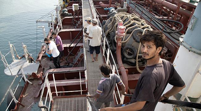 Stranded sailors of 'Mt Iba' tanker turn back their homes!
