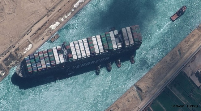 The Suez Canal has reduced its claim by 300 million dollars!