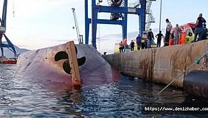 "Turkish vessel ""Nazmiye Ana"" capsized at port of Castellon, 3 Killed, 1 Missing"