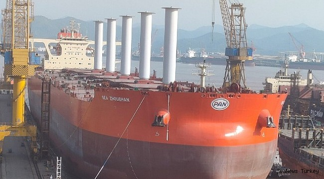 Vale is testing rotor sail technology on a giant bulk carrier!