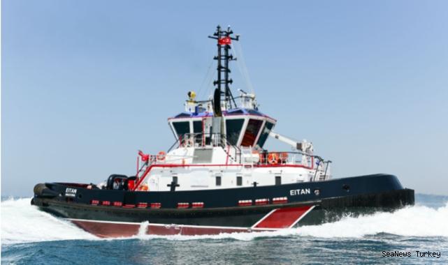 Turkey's Sanmar delivered high-performance VSP tugboat to Italian TRIPMARE
