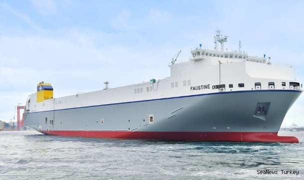 Hyundai delivered the first LNG-fueled Ro-Ro ship built in South Korea!
