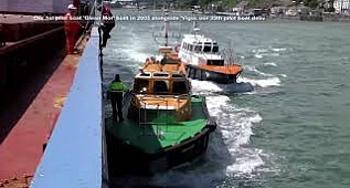 Seal Team -  Pilot boat in amazing Force and Storm sea trial